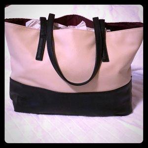 Mary Kay Black And Tan Large tote bag purse
